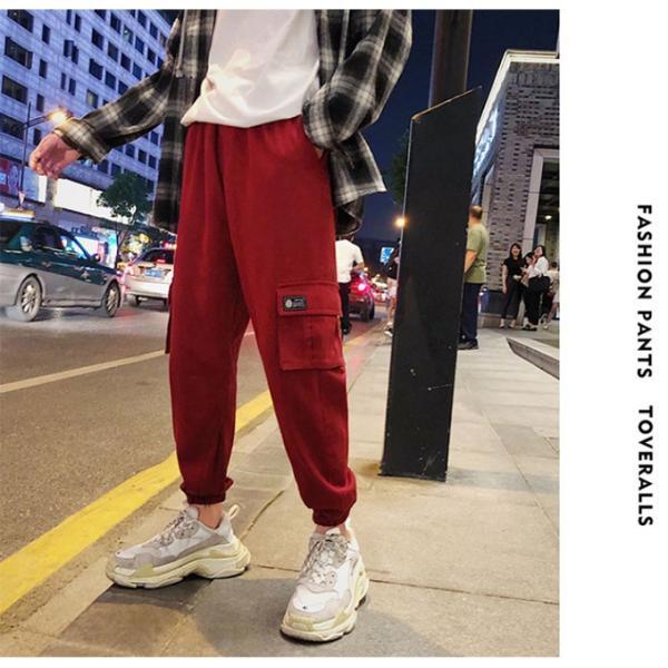 送料無料 ジョガーパンツ メンズ 2019新作 細身 スウェットパンツ ストレッチ 登山用パンツ イージーパンツ スエットパンツ 暖か 裏起毛 サルエルパンツ|keepy|03