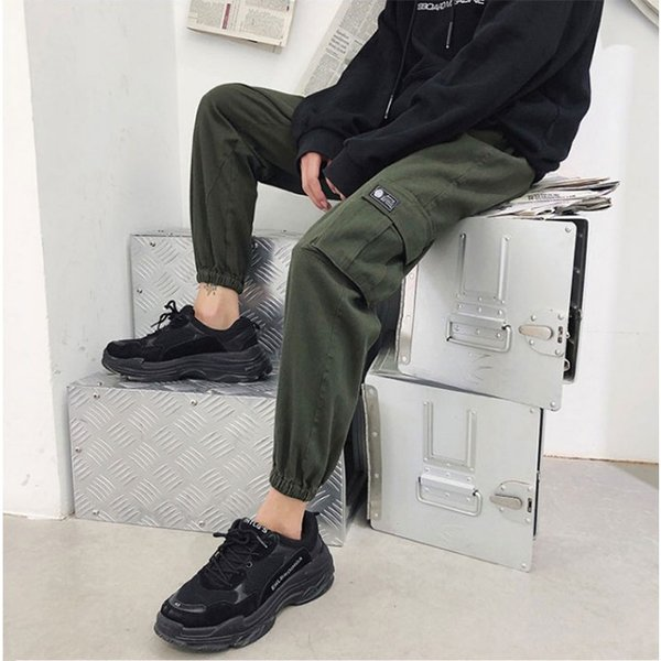 送料無料 ジョガーパンツ メンズ 2019新作 細身 スウェットパンツ ストレッチ 登山用パンツ イージーパンツ スエットパンツ 暖か 裏起毛 サルエルパンツ|keepy|04