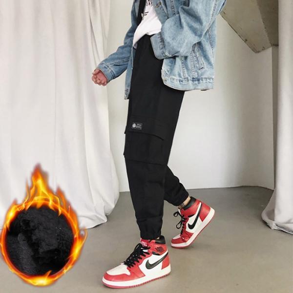 送料無料 ジョガーパンツ メンズ 2019新作 細身 スウェットパンツ ストレッチ 登山用パンツ イージーパンツ スエットパンツ 暖か 裏起毛 サルエルパンツ|keepy|07