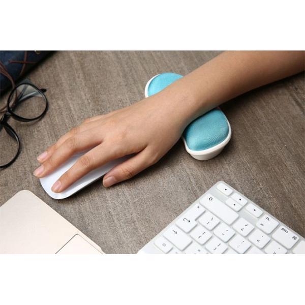 送料無料 マウスパッド リストレスト アームスタンド 低反発 手首 ラクラク シンプル おしゃれ 長時間 快適 PC パソコン 疲労 軽減  周辺機器|keepy|02