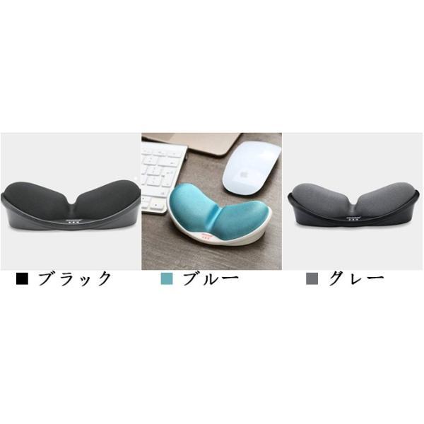 送料無料 マウスパッド リストレスト アームスタンド 低反発 手首 ラクラク シンプル おしゃれ 長時間 快適 PC パソコン 疲労 軽減  周辺機器|keepy|08