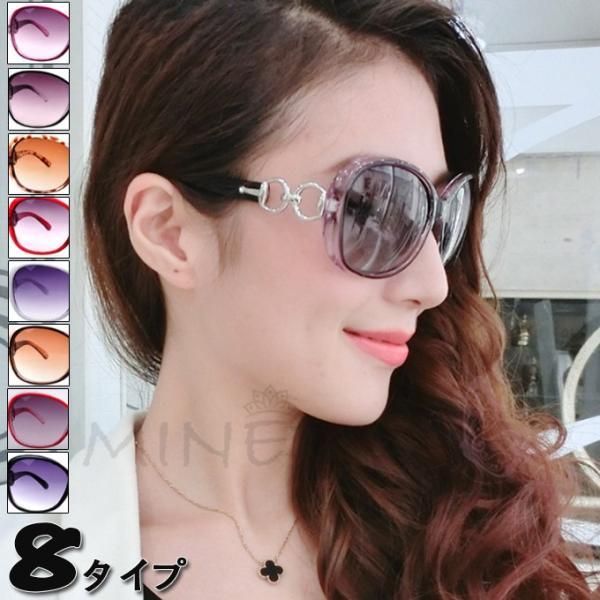送料無料 ビックフレーム グラデーション サングラス UVカット  ミラー レディース メンズ ケース付き 偏光 sunglass 超軽量 メガネ|keepy