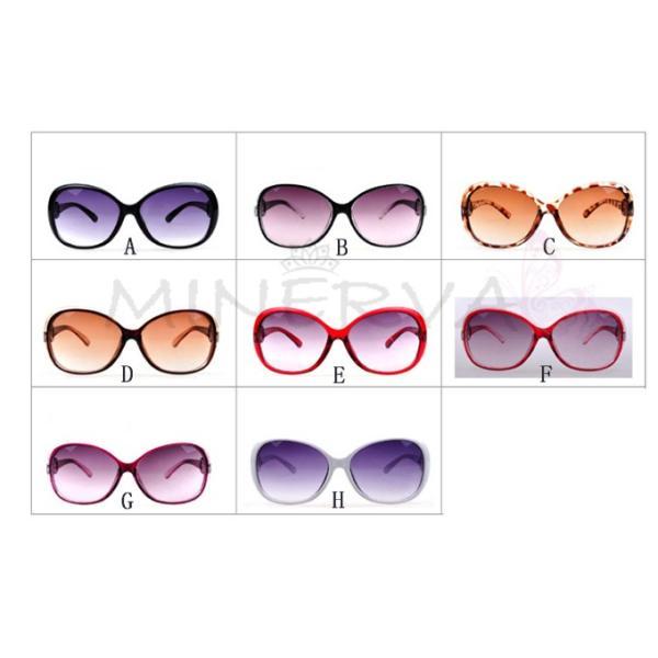 送料無料 ビックフレーム グラデーション サングラス UVカット  ミラー レディース メンズ ケース付き 偏光 sunglass 超軽量 メガネ|keepy|11