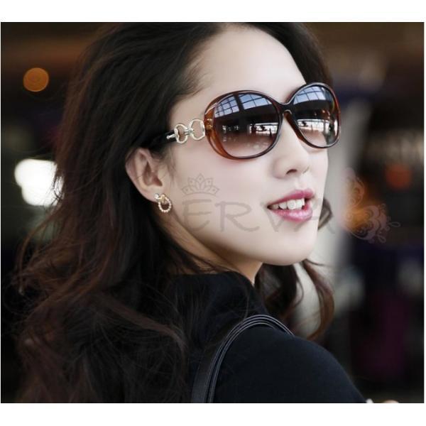 送料無料 ビックフレーム グラデーション サングラス UVカット  ミラー レディース メンズ ケース付き 偏光 sunglass 超軽量 メガネ|keepy|10