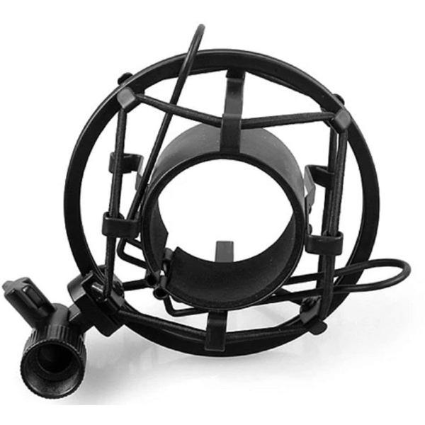 hana ショックマウント サスペンションホルダー スマホ スタンドセット 振動防止 48mm-54mmに対応 (48mm-54mm, ブラ|keihouse|03