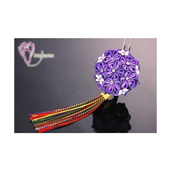 つまみ細工 髪飾り 紫 菊 梅 かんざし 成人式 振袖 袴 浴衣 着物 和装 簪 髪型