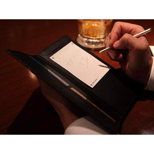 東京下町職人仕上げメモできる本革長財布小銭入れ付き (BLACK)