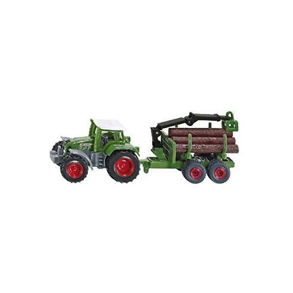 ジク(SIKU)フェントトラクター木材運搬トレーラー付SK1645