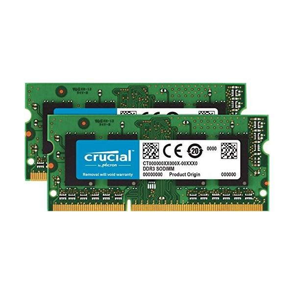 (中古品)Crucial [Micron製Crucialブランド] DDR3 1866 MT/s (PC3-14900) 16GB Kit