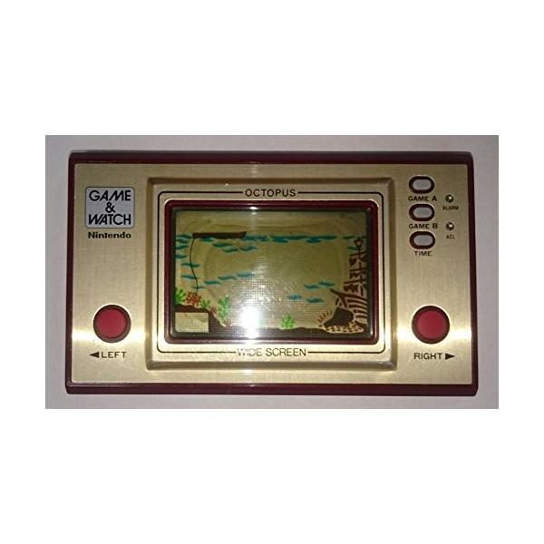 (中古品)任天堂 Nintendo OC-22 オクトパス(OCTOPUS) GAMEamp;WATCH ゲーム&ウォッ