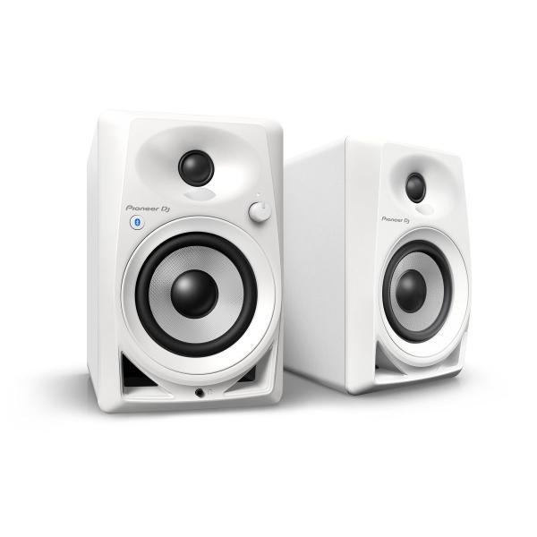 (中古品)Pioneer DJ 4インチアクティブモニタースピーカー DM-40BT-W