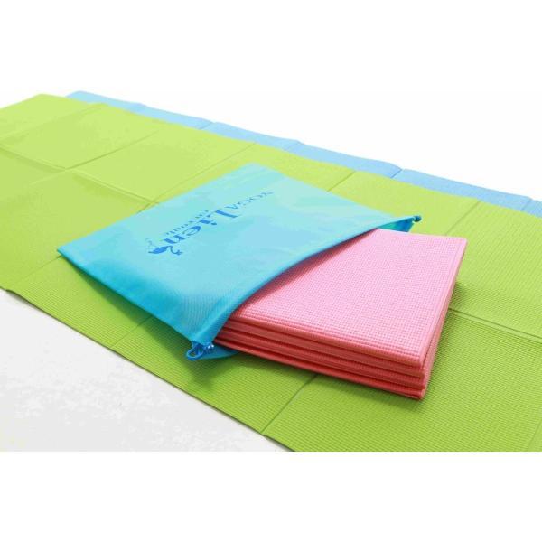 折りたたみヨガマット3枚セット〜巾着袋付き〜|keipro-shop