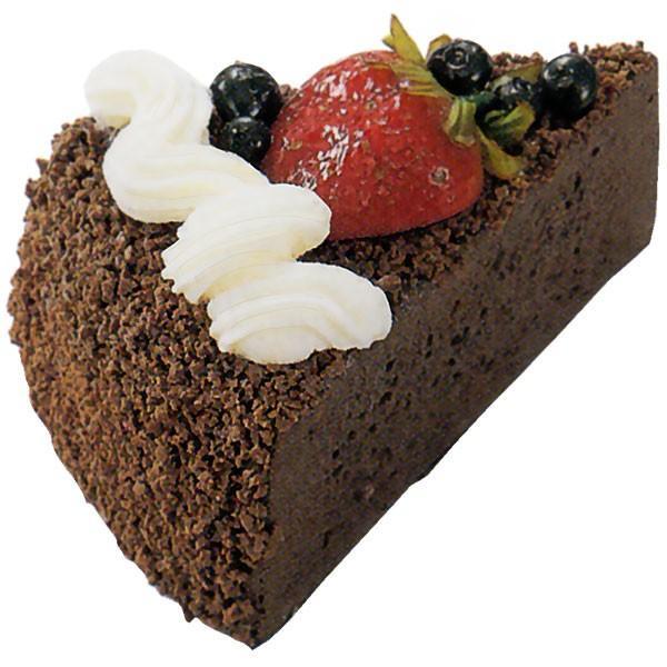 チョコレートケーキ 全長10cm 2個セット(洋菓子 スイーツ デザート ショートケーキ フェイクフード 食品サンプル)