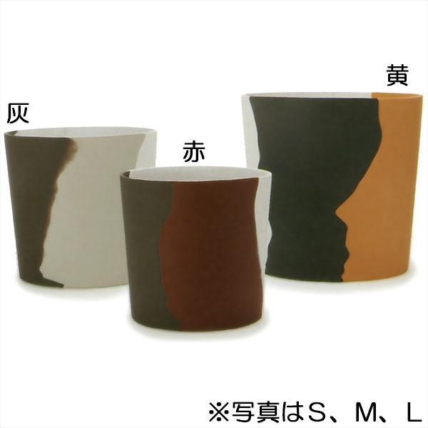 鉢カバー ホルスト プライマ S9号 6号用 全高25cm×直径26cm 底穴なし 樹脂 石粉 プランター ポット インテリアグリーン 観葉植物用