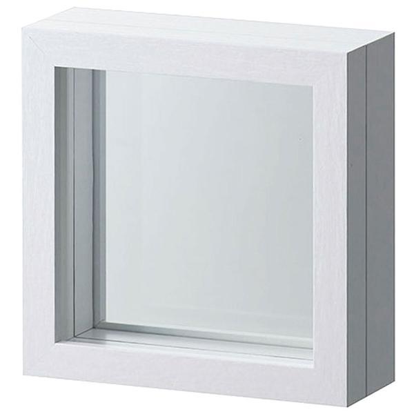 フレーム 口14.5cm×奥行5cm 2個セット マグネット式 インテリア 花器 PET板取り外し可能 ガラス製