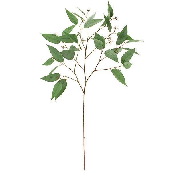 ユーカリ 全長95cm(フェイクグリーン 造花 インテリアグリーン おしゃれ 人工観葉植物)