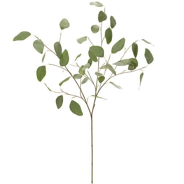 ユーカリ 全長92cm(フェイクグリーン 造花 インテリアグリーン おしゃれ 人工観葉植物)
