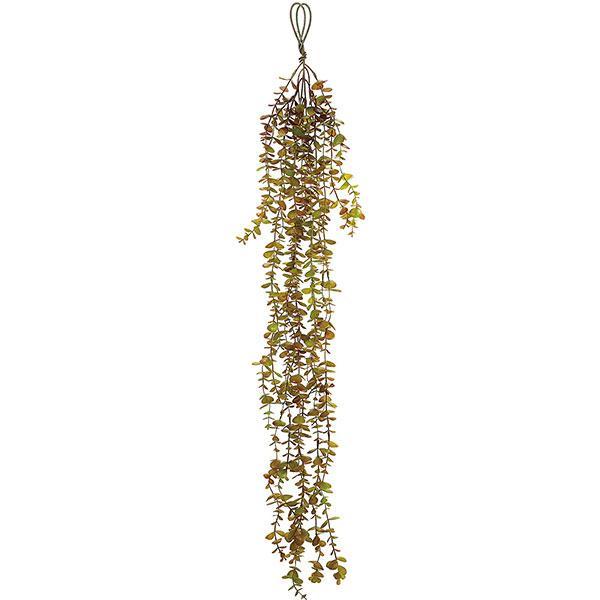 ユーカリ ハンギング 全長105cm 2本セット(フェイクグリーン 造花 インテリアグリーン おしゃれ 人工観葉植物)