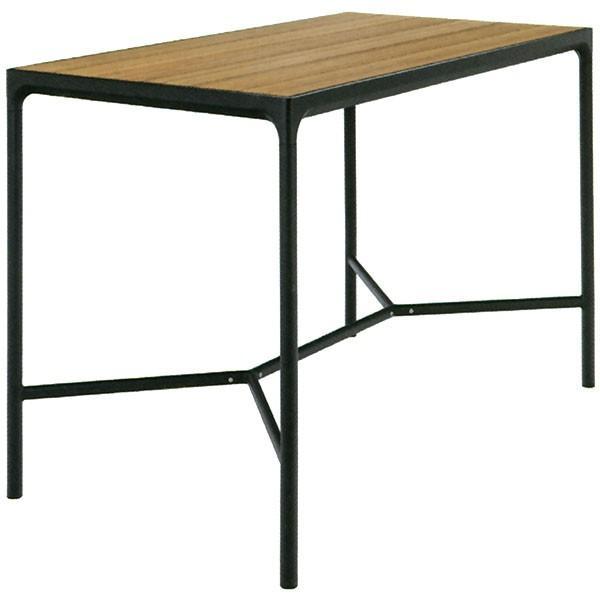 テーブル 屋外対応 HOUE フォーバーテーブル レクタングル 全高111cm×幅90cm(ホウエアウトドア 組み立て式 ガーデンファーニチャー アウトドア用品 家具)