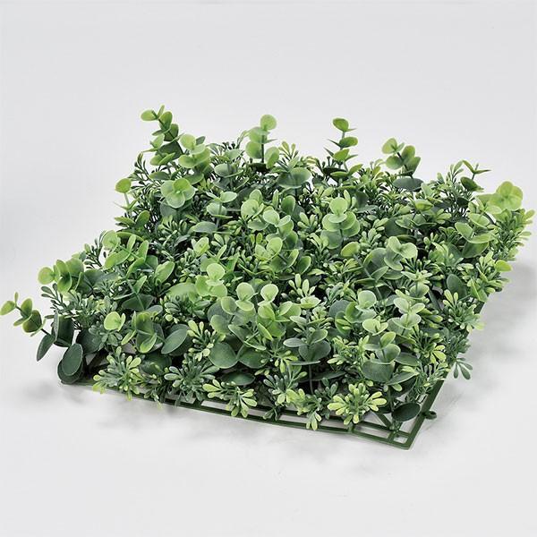 人工芝 ユーカリ 口30cm 2枚セット フェイクグリーン 人工観葉植物 造花 リーフ DIY ディスプレイ アレンジ 装飾
