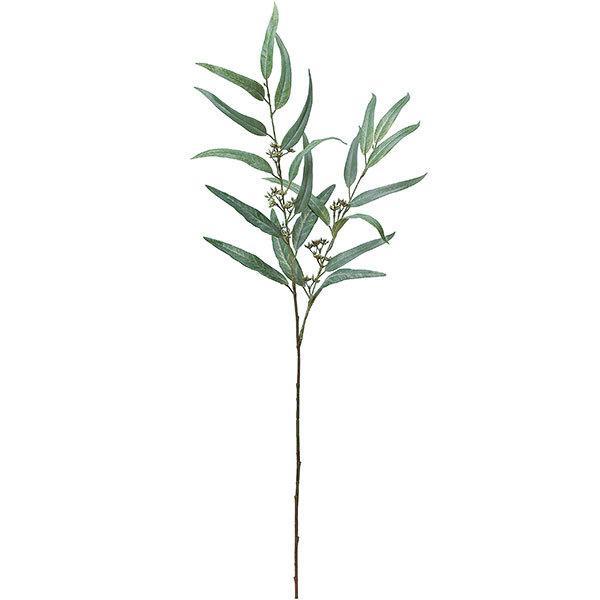 ユーカリ 全長90cm 3本セット(フェイクグリーン 造花 インテリアグリーン おしゃれ 人工観葉植物)