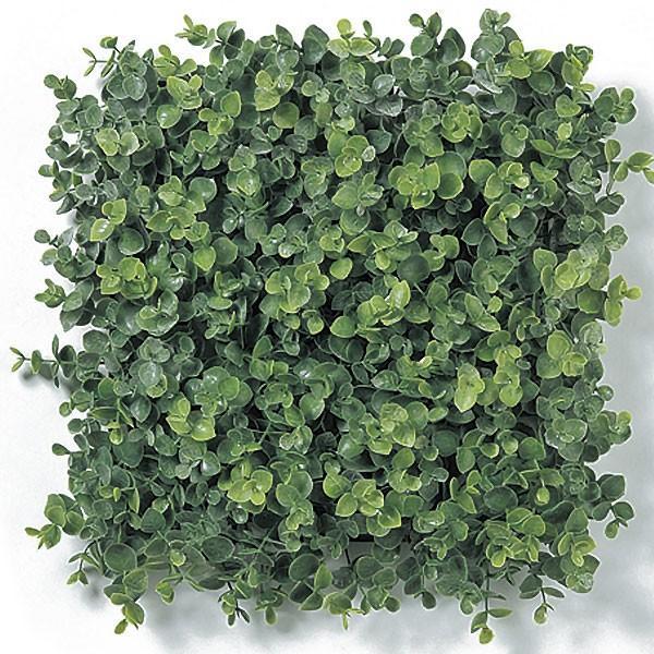 人工芝 ユーカリ 2枚セット 口30cm(フェイクグリーン 造花 インテリアグリーン おしゃれ 人工観葉植物 DIY)