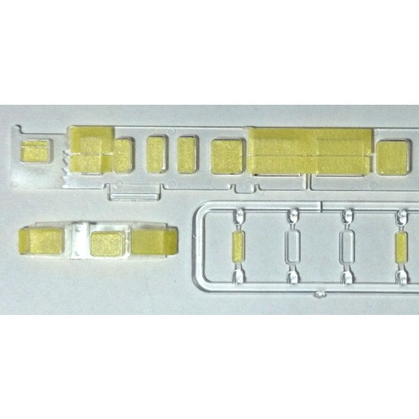 113系/115系 窓ガラスパーツ 塗装用(先頭/中間車両用)【マスキングテープ】|keishinmokei