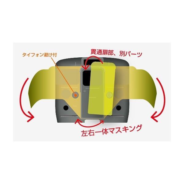 113系 横須賀色(先頭車〔タイフォン逃げ付き〕)【マスキングテープ】 keishinmokei