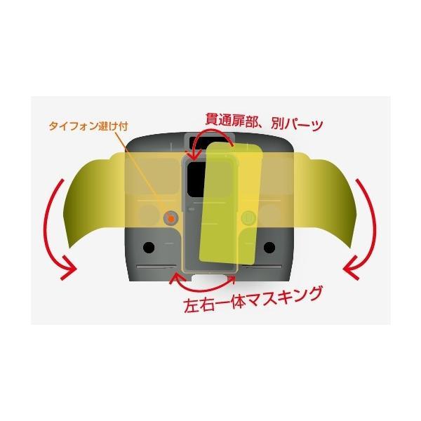 115系 横須賀色(先頭車〔タイフォン逃げ付き〕)【マスキングテープ】 keishinmokei
