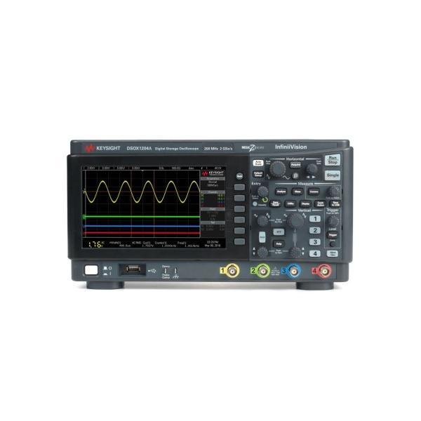 キーサイト (KEYSIGHT) DSOX1204A オシロスコープ 70MHz 4ch 2GS/s|keisokuki-land-pro