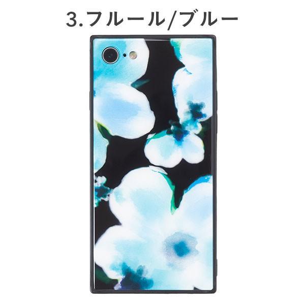 iphone8 iphone7 ケース スクエア 型 TILE タイル ボタニカルフラワー 花柄 EYLE|keitai|04