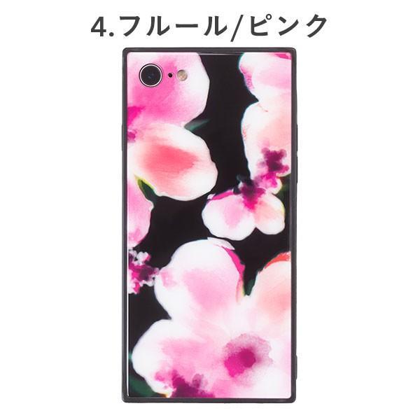 iphone8 iphone7 ケース スクエア 型 TILE タイル ボタニカルフラワー 花柄 EYLE|keitai|05