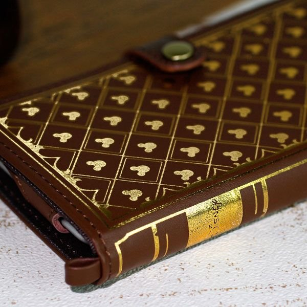 iPhone6s ケース ディズニー 手帳型 手帳 横 iPhone6s iPhone6 ケース カバー アイフォン6s アイフォン6 ブランド ICカード Old Book キャラクター disney_y keitai 05