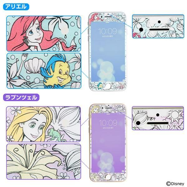 iphone8 iPhone7 iPhone6s ガラスフィルム ディズニー アイフォン8 アイホン8 強化ガラス 液晶保護フィルム プレミアム ガラス 9H ラウンドエッジ 0.3mm|keitai|03