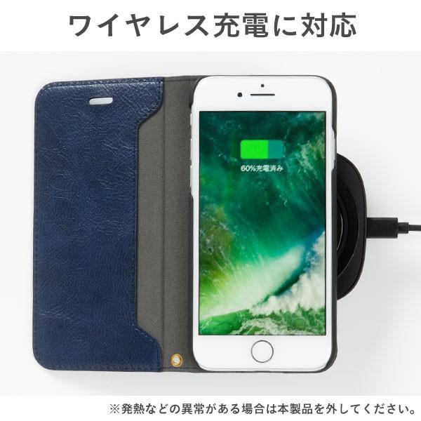 iphone8 ケース アイフォン8 ケース 手帳 横 メンズ PUレザー iphone7 アイホン7 ケース ダイアリーケース ブランド カバー おしゃれ iphone6s iphone6 keitai 09