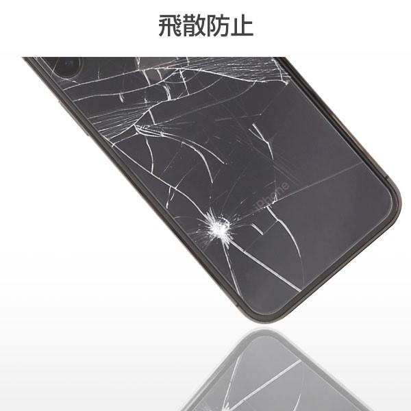 ipnonex アイフォンx アイホンx ガラスフィルム 背面 プレミアムガラス9H 背面 強化ガラス 背面保護シート0.33mm|keitai|05