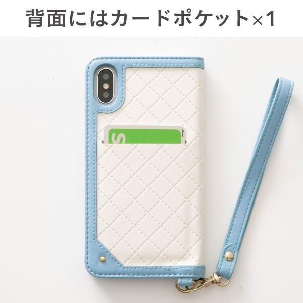 iphonex  iphonexs ケース 手帳型 trouver Plie トルヴェ プリエ 窓付き ダイアリーケース|keitai|10