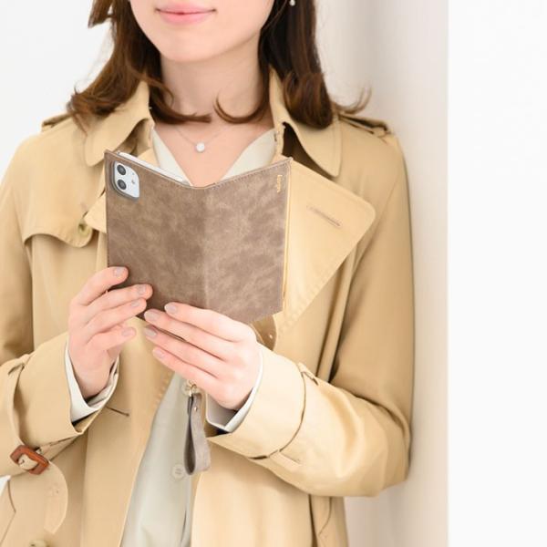 iphone8 手帳 ケース iphone7 手帳型 ケース 可愛い salisty サリスティ Q スエードスタイル ダイアリーケース keitai 11