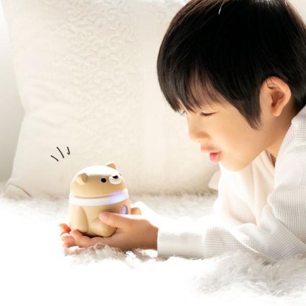 音声 メッセージ ロボット コミュニケーション 見守り ロボット ハミック ベア Hamic BEAR スマホ アクセ グッズ|keitai|03