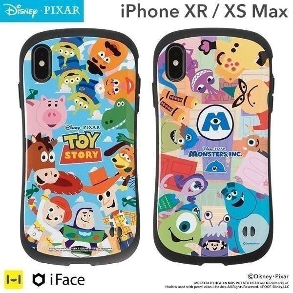iphone xr ケース iphone xs max ケース ディズニー ピクサー キャラクター アイフェイス iFace スマホケース|keitai