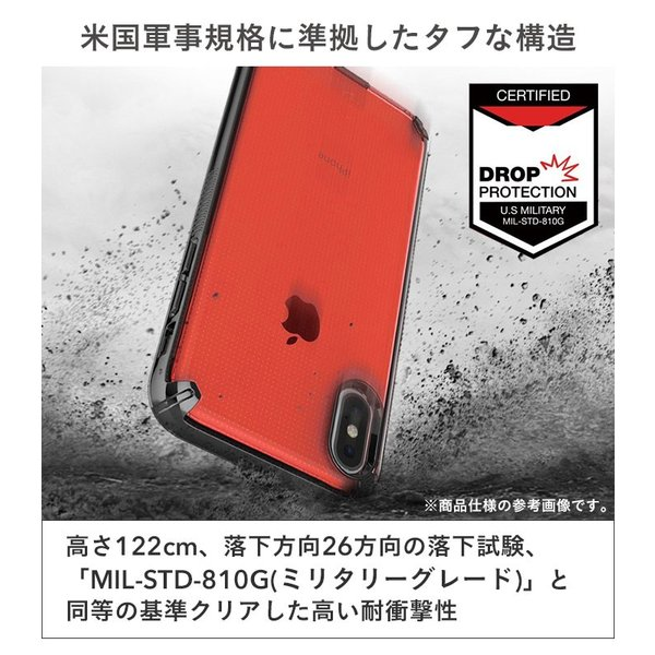 iphone xr ケース 耐衝撃 透明 iphone xs iphone x ケース クリア iphone xs max アイフォンテンアール スマホケース PATCHWORKS ケース|keitai|05