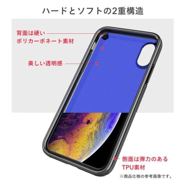 iphone xr ケース 耐衝撃 透明 iphone xs iphone x ケース クリア iphone xs max アイフォンテンアール スマホケース PATCHWORKS ケース|keitai|06