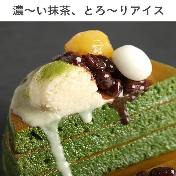 (各種スマートフォン対応)食品サンプルスタンド(濃い〜抹茶のパンケーキ)|keitai|03