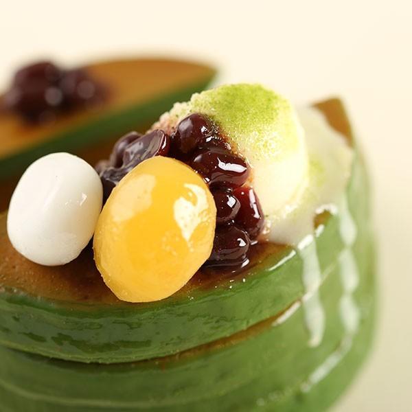 (各種スマートフォン対応)食品サンプルスタンド(濃い〜抹茶のパンケーキ)|keitai|07