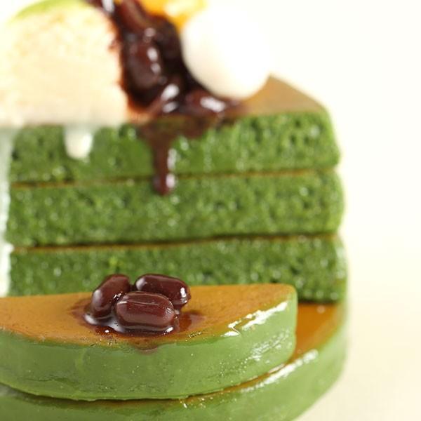 (各種スマートフォン対応)食品サンプルスタンド(濃い〜抹茶のパンケーキ)|keitai|08