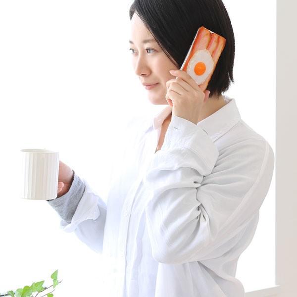 iphone8 ケース ベーコンエッグ iphone7 ケース 食品サンプル カバー|keitai|03
