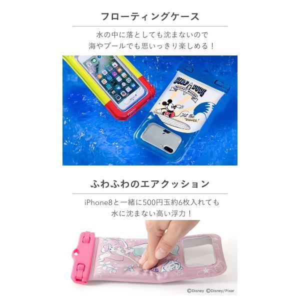 iphone スマホ 防水ケース ディズニー 浮く かわいい iphone7 DIVAID フローティング 防水 ケース xperia xzs アイフォン7 アイホン7 ポーチ|keitai|08