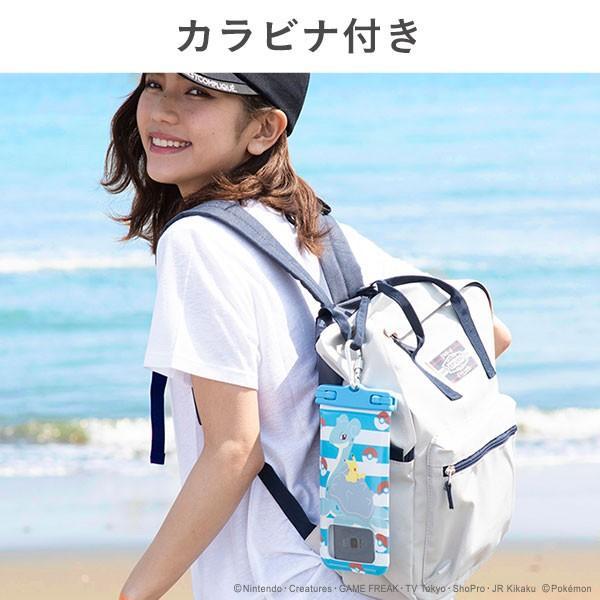 ポケットモンスター/ポケモン DIVAID フローティング防水ケース 5.8インチまで対応(ピカチュウ&ラプラス)|keitai|08
