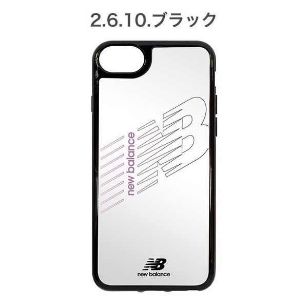 iPhone XS X 透明 ケース XR 8 7 6s 6 クリア ケース ニューバランス New Balance ハイブリッドサイドカラー keitai 03
