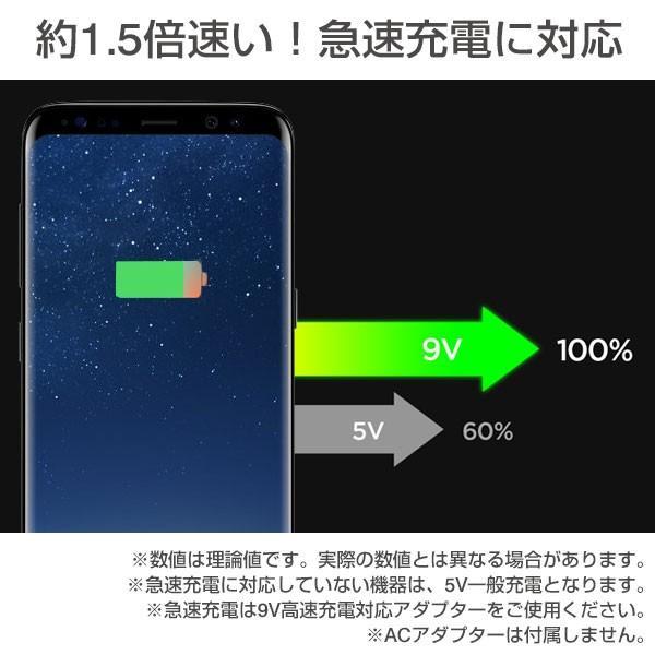 ワイヤレス充電器 急速充電対応 iphonex iphone8 iphone8plus ワイヤレス 充電 アイフォンx アイホン8 Qi認証品 Spigen F301W 9W|keitai|03